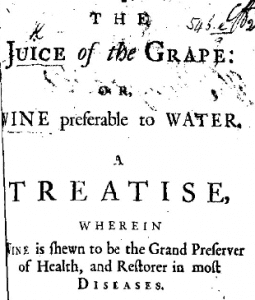 An 18th century leaflet,