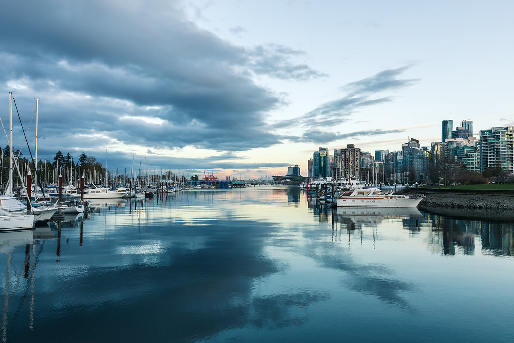 panorama of beautiful Vancouver which has the best online wine delivery services for BC