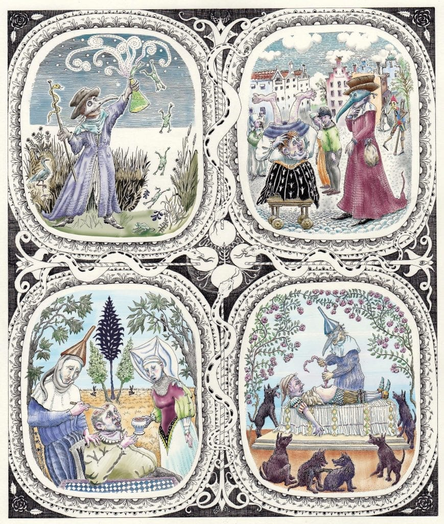 tapestry of Renaissance medical practitioners
